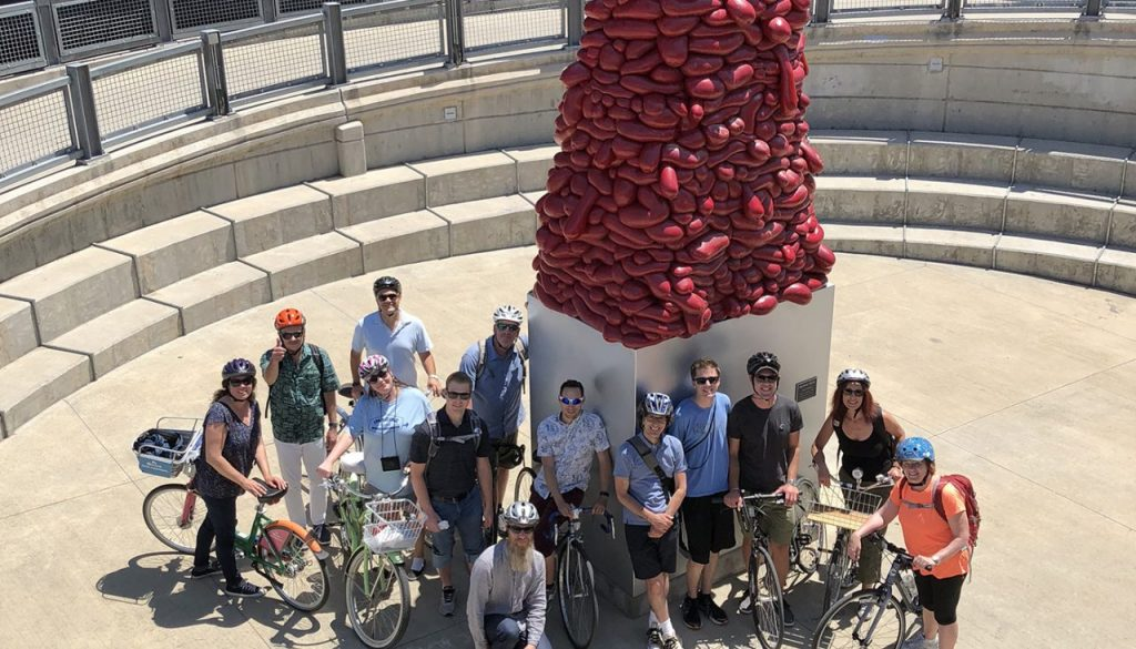 Go to Downtown Denver Public Art Bicycle Tour