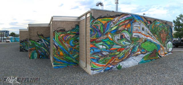 5th Street Hub Sustainability Mural
