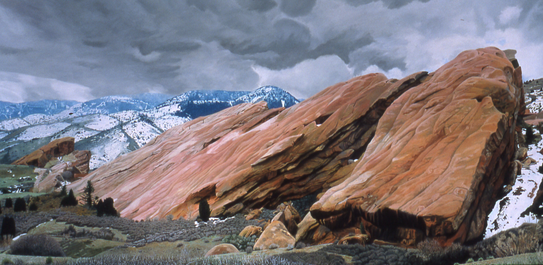 Go to the Red Rocks, Early Spring page