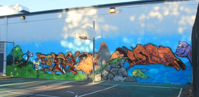 YNIG Art Education Mural Program