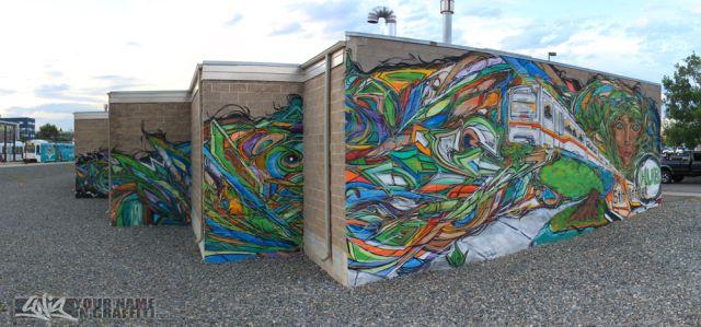 5th Street Hub Sustainability Mural