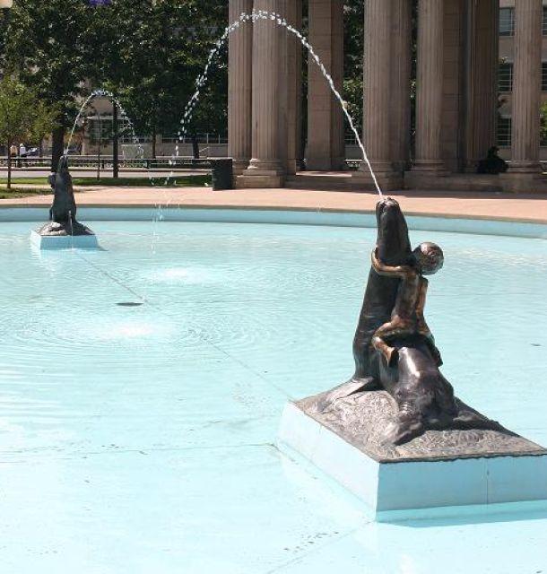 Sea Lion Fountain
