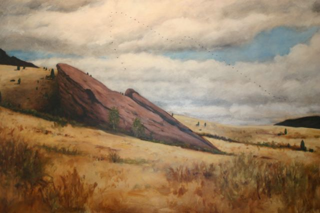 Untitled (Red Rocks)