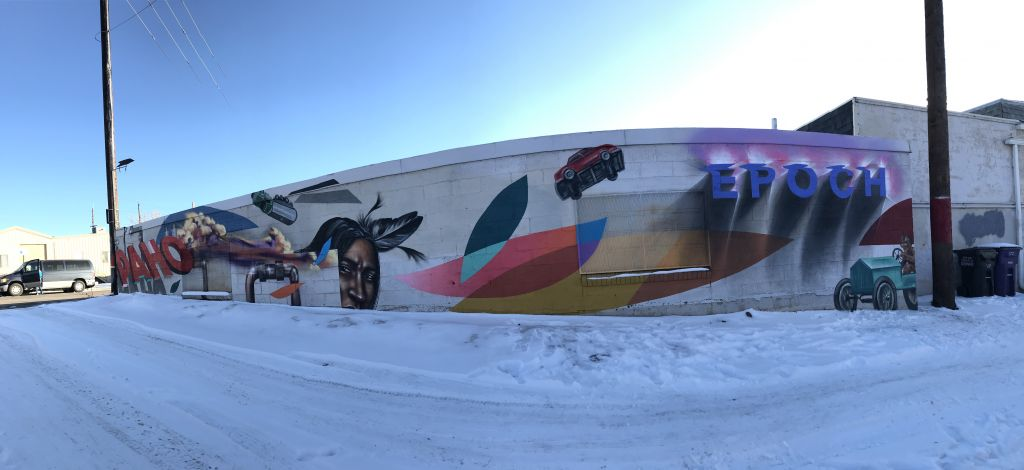 Go to the Overland Mural page