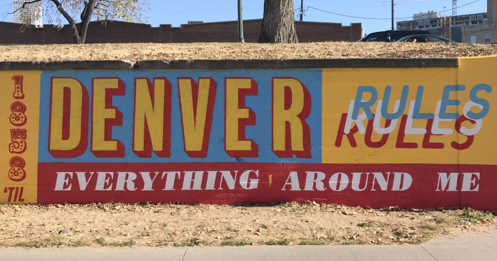 Go to the Denver rules everything around me page