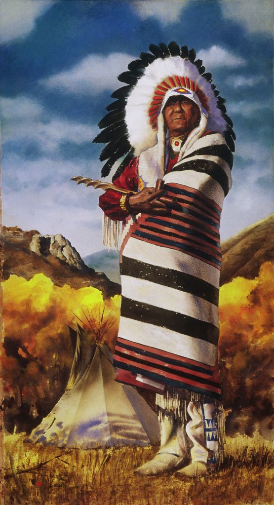 Go to the Colorado Pioneers; Ute Elder page