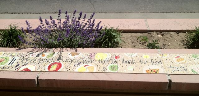 Morrison Road Mosaic Benches